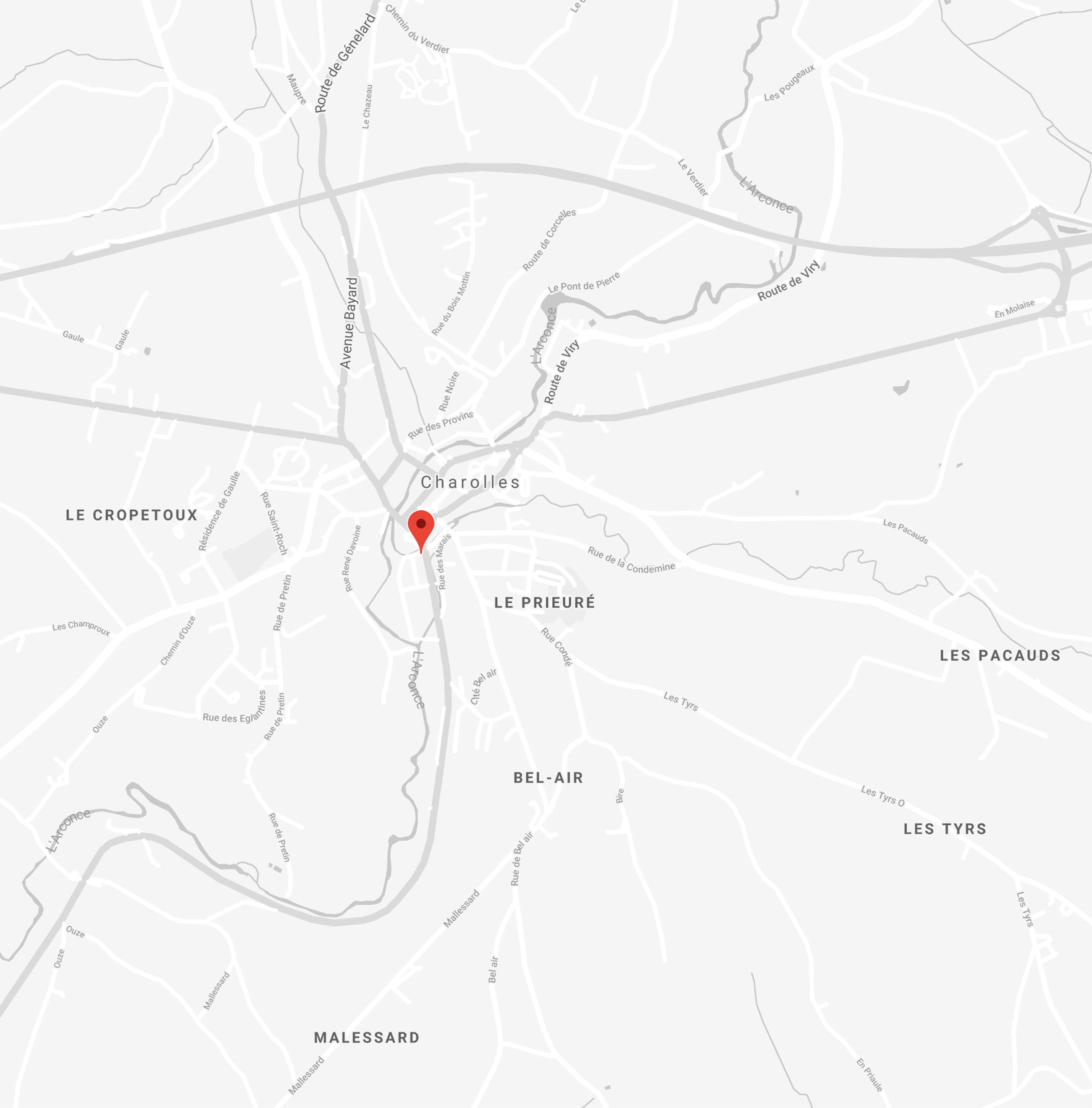 <span><span><span><span><span>Maison Doucet à Charolles en Bourgogne </span></span></span></span></span>
